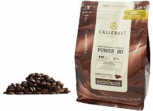 Шоколад горький Power80 Callebaut Бельгия 80% 0.5кг